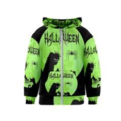 Halloween Kids  Zipper Hoodie