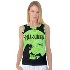 Halloween Women s Basketball Tank Top