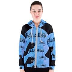 Halloween Women s Zipper Hoodie