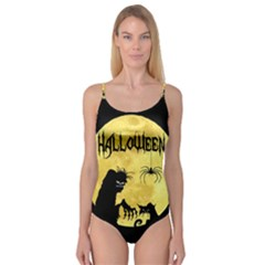 Halloween Camisole Leotard