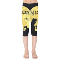 Halloween Kids  Capri Leggings
