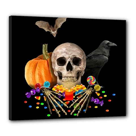 Halloween Candy Keeper Canvas 24  X 20