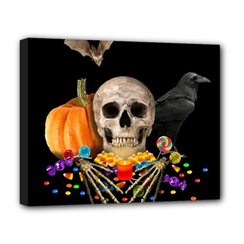 Halloween Candy Keeper Deluxe Canvas 20  X 16