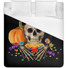 Halloween Candy Keeper Duvet Cover (king Size)