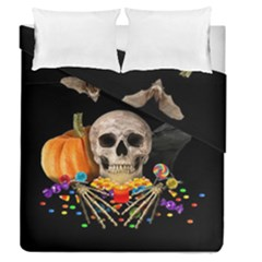 Halloween Candy Keeper Duvet Cover Double Side (queen Size)