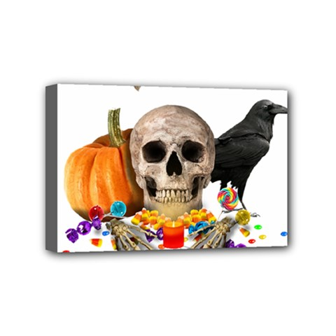Halloween Candy Keeper Mini Canvas 6  X 4
