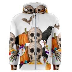 Halloween Candy Keeper Men s Zipper Hoodie