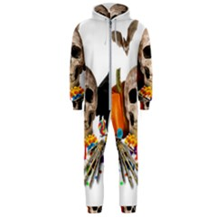 Halloween Candy Keeper Hooded Jumpsuit (men)