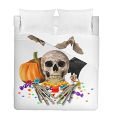 Halloween Candy Keeper Duvet Cover Double Side (full/ Double Size)