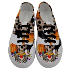 Halloween Candy Keeper Men s Classic Low Top Sneakers