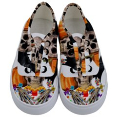 Halloween Candy Keeper Kids  Classic Low Top Sneakers