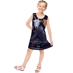 Spiritual Goat Kids  Tunic Dress