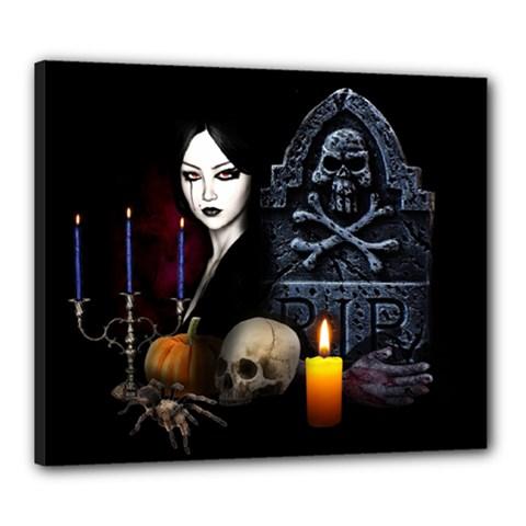 Vampires Night  Canvas 24  X 20