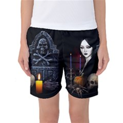 Vampires Night  Women s Basketball Shorts