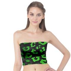 Skin5 Black Marble & Green Brushed Metal (r) Tube Top