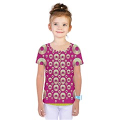 Going Gold Or Metal On Fern Pop Art Kids  One Piece Tee