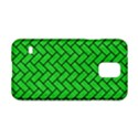BRICK2 BLACK MARBLE & GREEN COLORED PENCIL (R) Samsung Galaxy S5 Hardshell Case  View1