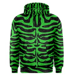 Skin2 Black Marble & Green Colored Pencil Men s Pullover Hoodie