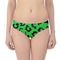 Skin5 Black Marble & Green Colored Pencil Hipster Bikini Bottoms