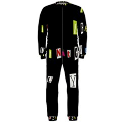 I Am Watching You Onepiece Jumpsuit (men)