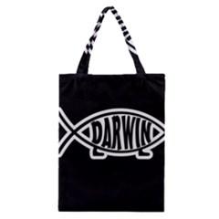 Darwin Fish Classic Tote Bag
