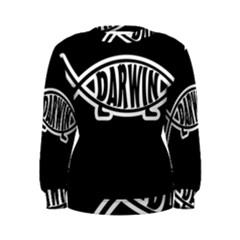 Darwin Fish Women s Sweatshirt