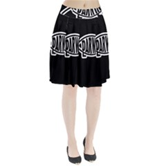 Darwin Fish Pleated Skirt