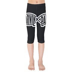 Darwin Fish Kids  Capri Leggings