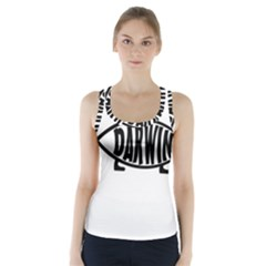 Darwin Fish Racer Back Sports Top