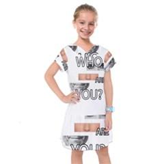 Who Are You Kids  Drop Waist Dress