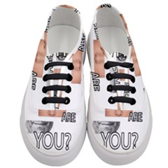 Who Are You Women s Classic Low Top Sneakers
