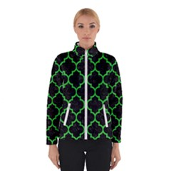 Tile1 Black Marble & Green Colored Pencil Winterwear