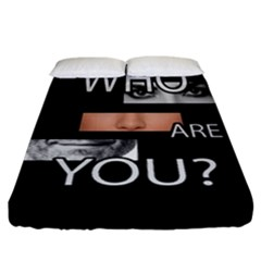 Who Are You Fitted Sheet (california King Size)
