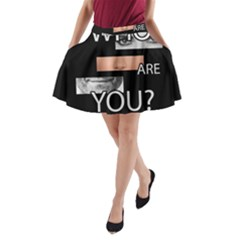 Who Are You A Line Pocket Skirt