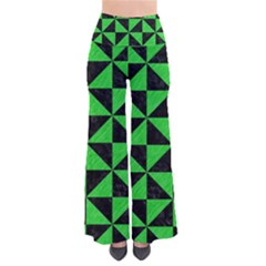 Triangle1 Black Marble & Green Colored Pencil Pants
