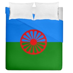 Gypsy Flag Duvet Cover Double Side (queen Size)