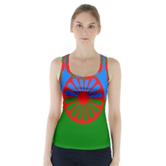 Gypsy Flag Racer Back Sports Top