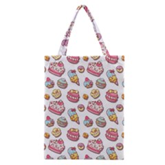 Sweet Pattern Classic Tote Bag