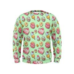 Sweet Pattern Kids  Sweatshirt
