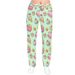 Sweet Pattern Drawstring Pants