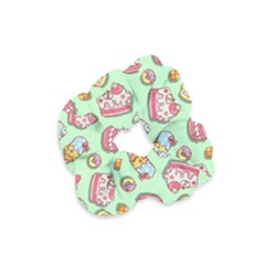 Sweet Pattern Velvet Scrunchie
