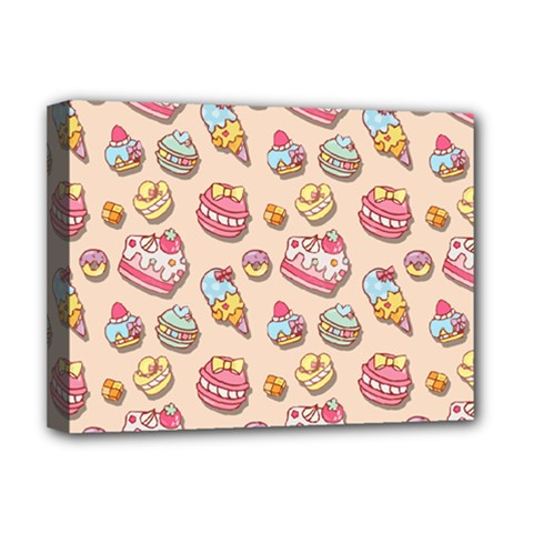 Sweet Pattern Deluxe Canvas 16  X 12