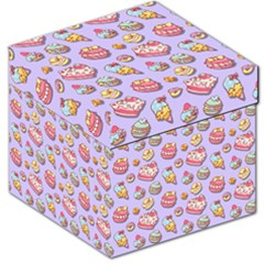 Sweet Pattern Storage Stool 12