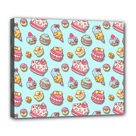 Sweet Pattern Deluxe Canvas 24  X 20