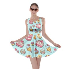 Sweet Pattern Skater Dress