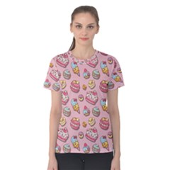 Sweet Pattern Women s Cotton Tee