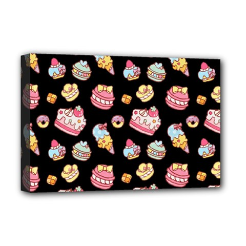 Sweet Pattern Deluxe Canvas 18  X 12