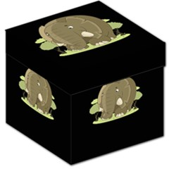 Cute Elephant Storage Stool 12