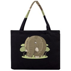 Cute Elephant Mini Tote Bag