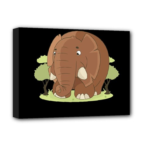 Cute Elephant Deluxe Canvas 16  X 12